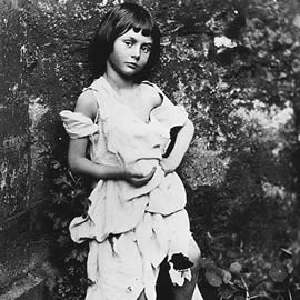 Portrait of Alice Liddell taken by Lewis Carroll,1858