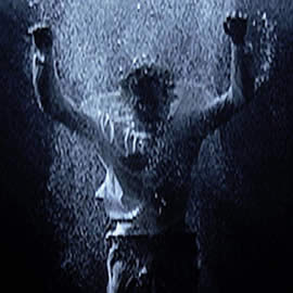 Bill Viola Ascension 2000 MFA Houston - detail