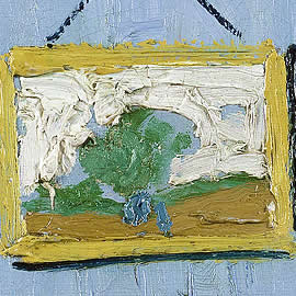 Van Gogh Bedroom at Arles - detail